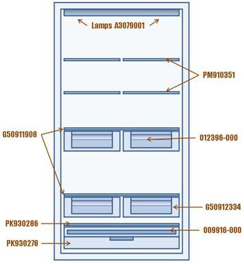 Fridge Interior Parts Decoratingspecial Com
