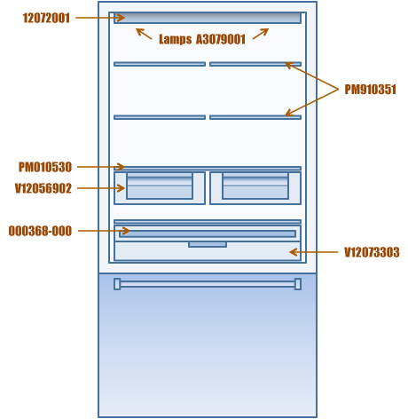 Viking refrigerator interior shelves drawers deli lid and bulbs did you know you can talk to a real live person who will help you get your viking appliance good as new again our viking part pros are the experts on asfbconference2016 Gallery